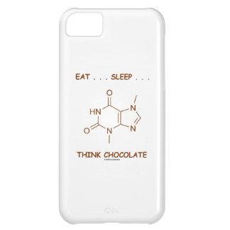 Eat ... Sleep ... Think Chocolate (Theobromine) iPhone 5C Cover