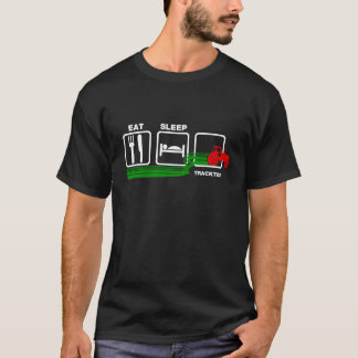 Eat Sleep Tractor T-Shirt