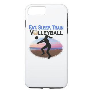 EAT, SLEEP, TRAIN VOLLEYBALL iPhone 8 PLUS/7 PLUS CASE