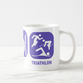 Eat Sleep Triathlon Coffee Mug