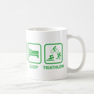 Eat Sleep Triathlon Coffee Mug