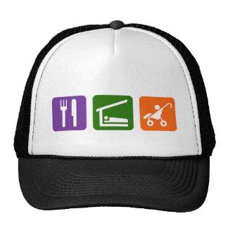 Eat Sleep Trucker Hat