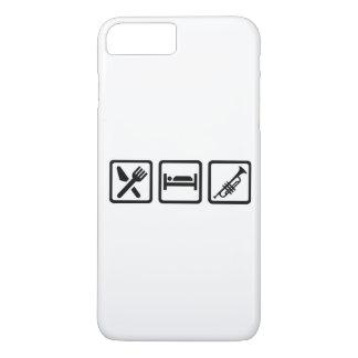 Eat Sleep Trumpet iPhone 7 Plus Case
