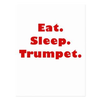 Eat Sleep Trumpet Postcards