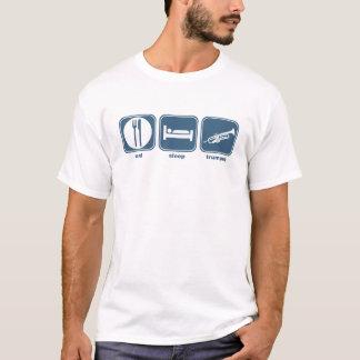 eat sleep trumpet T-Shirt