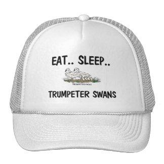 Eat Sleep TRUMPETER SWANS Trucker Hat