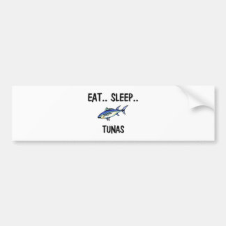 Eat Sleep TUNAS Bumper Sticker