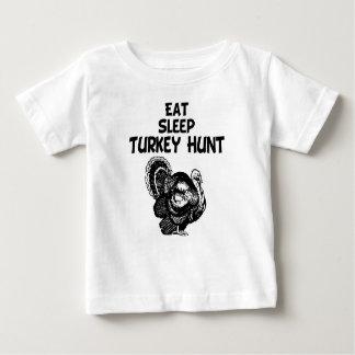 Eat, Sleep, Turkey Hunt Baby T-Shirt