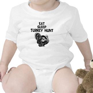 Eat, Sleep, Turkey Hunt Romper
