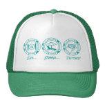 Eat Sleep Turtles! Trucker Hat