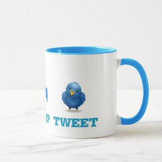Eat Sleep Tweet Mug