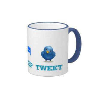 Eat Sleep Tweet Coffee Mug