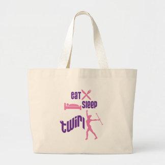 Eat Sleep Twirl Bag