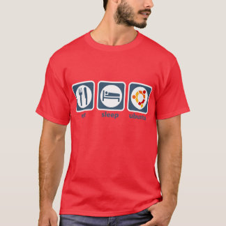 Eat Sleep Ubuntu T-Shirt