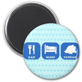 Eat Sleep Vatican Fridge Magnets