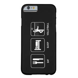 Eat Sleep Volleyball Barely There iPhone 6 Case