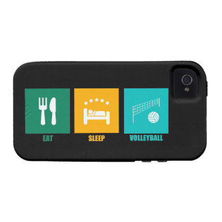 Eat Sleep Volleyball iPhone 4 Cases