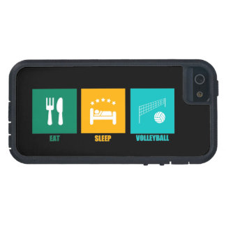 Eat Sleep Volleyball iPhone 5 Covers