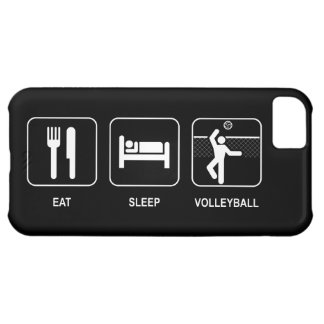 Eat Sleep Volleyball Cover For iPhone 5C