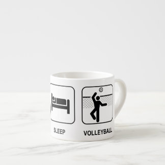 Eat Sleep Volleyball Espresso Cup