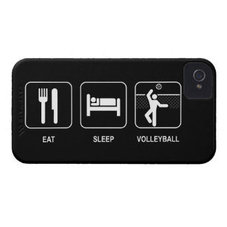 Eat Sleep Volleyball iPhone 4 Case-Mate Case