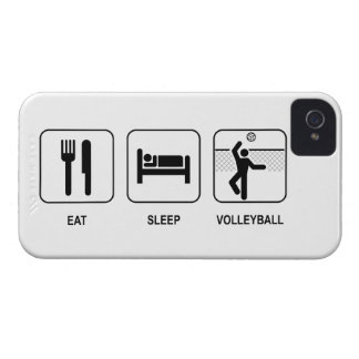 Eat Sleep Volleyball iPhone 4 Case-Mate Cases