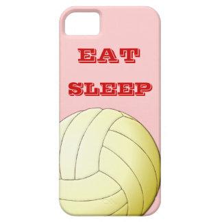 EAT SLEEP  VOLLEYBALL iPhone 5 Case