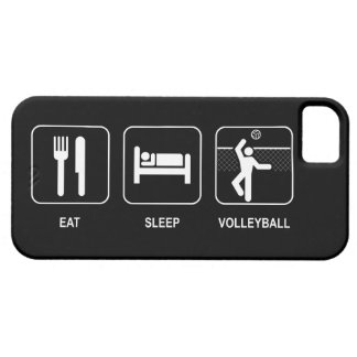 Eat Sleep Volleyball iPhone 5 Cases