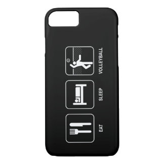Eat Sleep Volleyball iPhone 8/7 Case