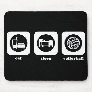 Eat. Sleep. Volleyball. Mousepad