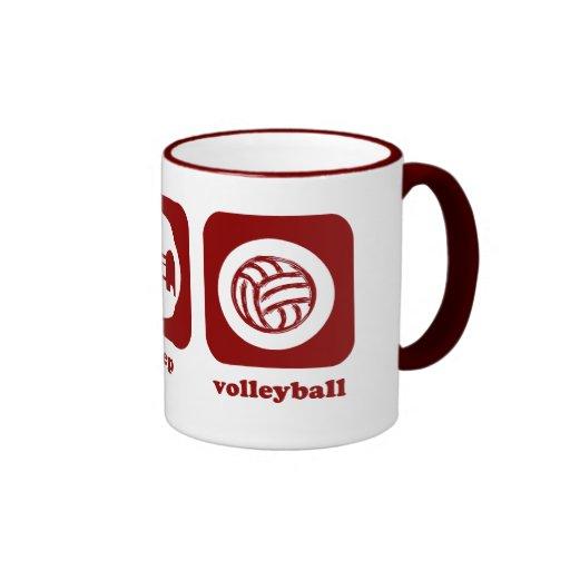Eat. Sleep. Volleyball. Mug