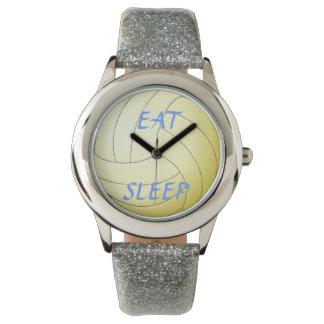 Eat Sleep Volleyball Watches
