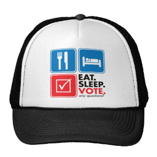Eat Sleep Vote Trucker Hat
