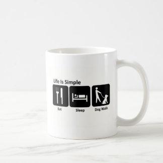Eat Sleep Walk Dog Coffee Mug
