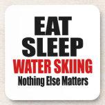 EAT SLEEP WATER SKIING COASTER