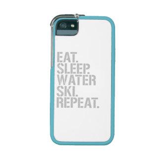 Eat Sleep Waterski Repeat iPhone 5 Covers