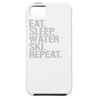 Eat Sleep Waterski Repeat Case For iPhone 5/5S