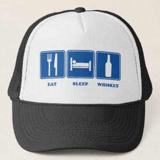 Eat Sleep Whiskey Trucker Hat