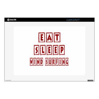 Eat Sleep Wind Surfing Skins For Laptops