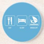 Eat Sleep Windsurf Coaster