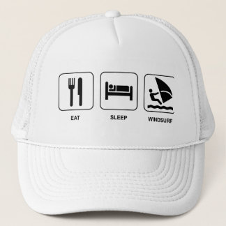 Eat Sleep Windsurf Hat