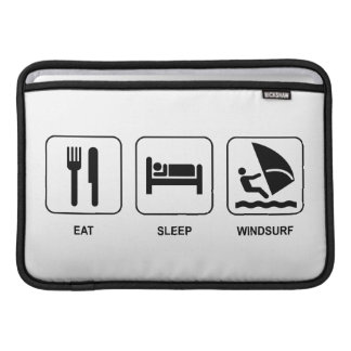 Eat Sleep Windsurf MacBook Air Sleeve