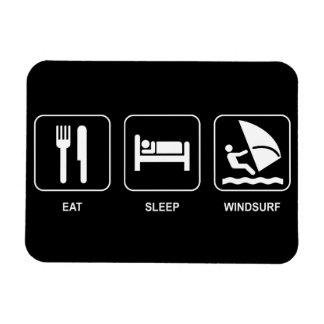 Eat Sleep Windsurf Magnet