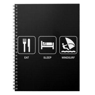 Eat Sleep Windsurf Notebook