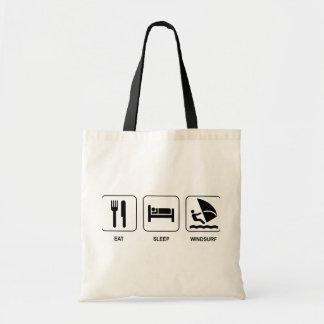 Eat Sleep Windsurf Tote Bag