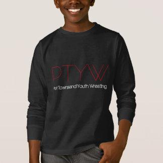 Eat Sleep Wrestle PTYW T-Shirt