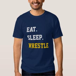 Eat Sleep Wrestle T-shirts