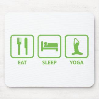 Eat Sleep Yoga Mouse Pad
