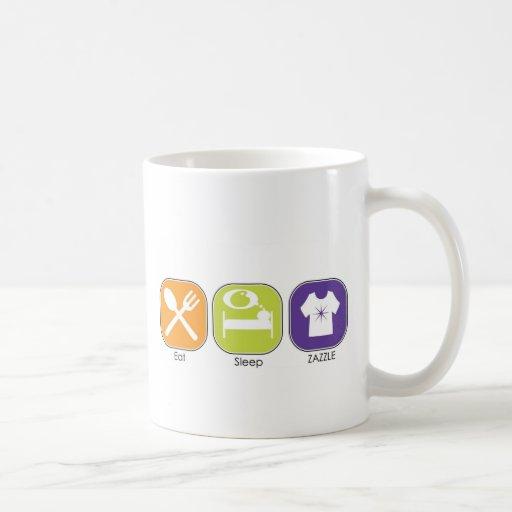 Eat Sleep Zazzle Classic White Coffee Mug
