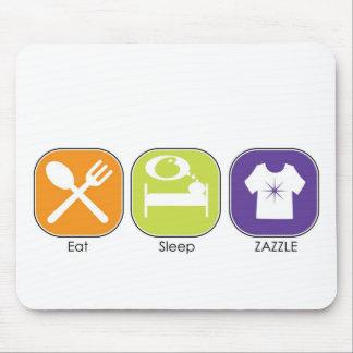 Eat Sleep Zazzle Mouse Pad